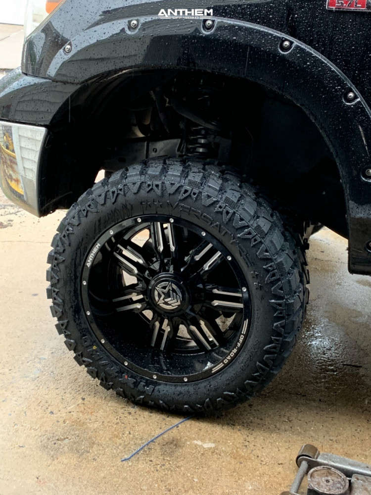 8 2010 Tundra Toyota Superlift Suspension Lift 6in Anthem Off Road Equalizer Machined Black