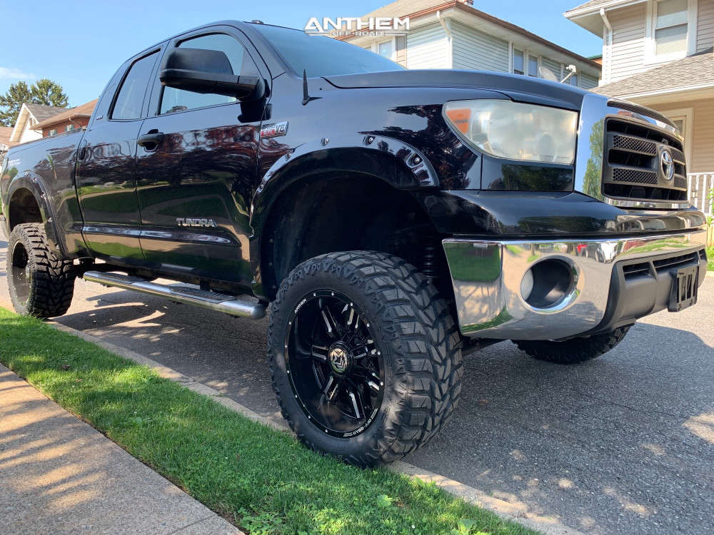9 2010 Tundra Toyota Superlift Suspension Lift 6in Anthem Off Road Equalizer Machined Black