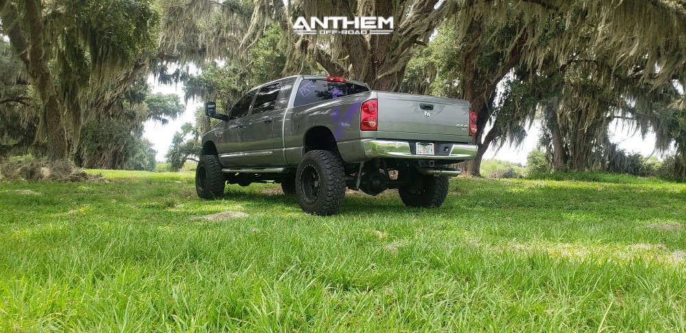 4 2008 Ram 2500 Dodge Rough Country Suspension Lift 6in Anthem Off Road Rogue Machined Black