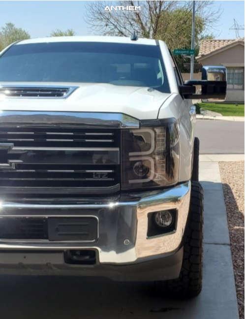 16 2019 Silverado 2500 Hd Chevrolet Stock Air Suspension Anthem Off Road Equalizer Black