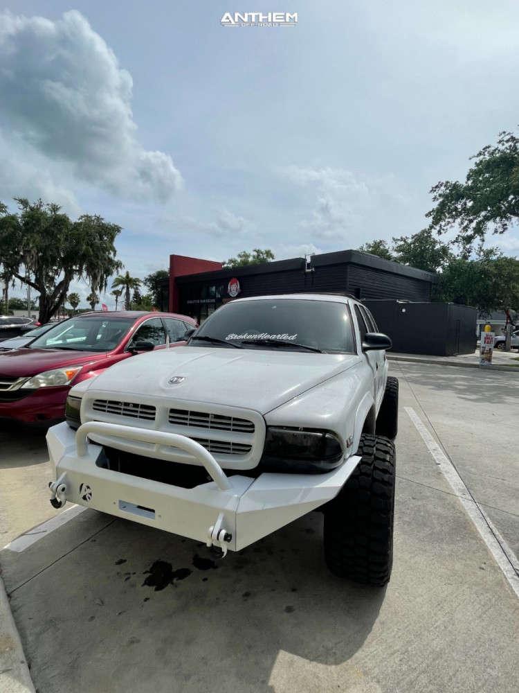 12 1998 Durango Dodge Supreme Suspension Lift 3in Anthem Off Road Liberty Black