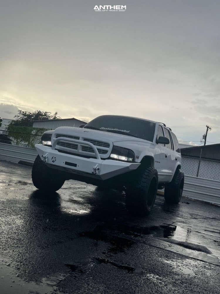 5 1998 Durango Dodge Supreme Suspension Lift 3in Anthem Off Road Liberty Black