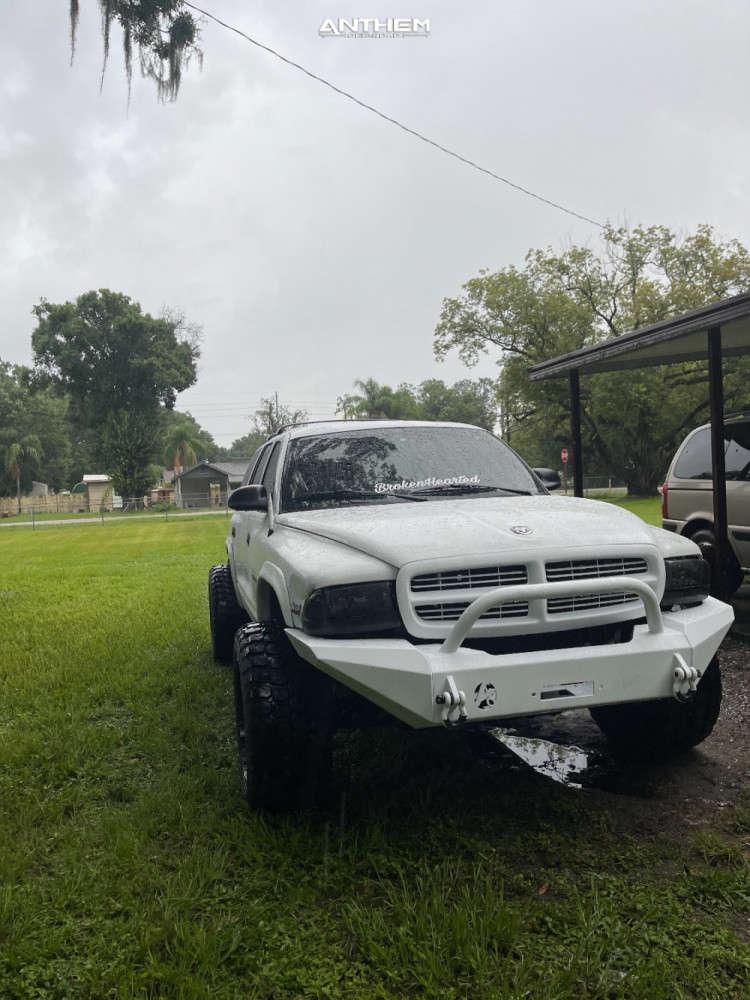 9 1998 Durango Dodge Supreme Suspension Lift 3in Anthem Off Road Liberty Black