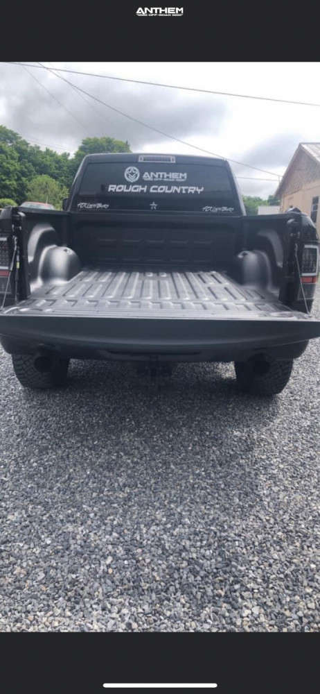 3 2018 1500 Ram Rough Country Suspension Lift 4in Anthem Off Road Instigator Machined Black
