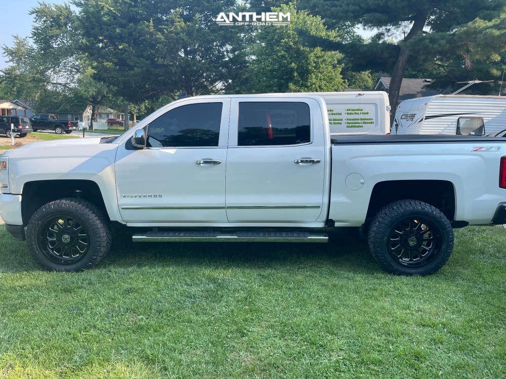 1 2017 Silverado 1500 Chevrolet Supreme Suspension Lift 3in Anthem Off Road Anthem Black