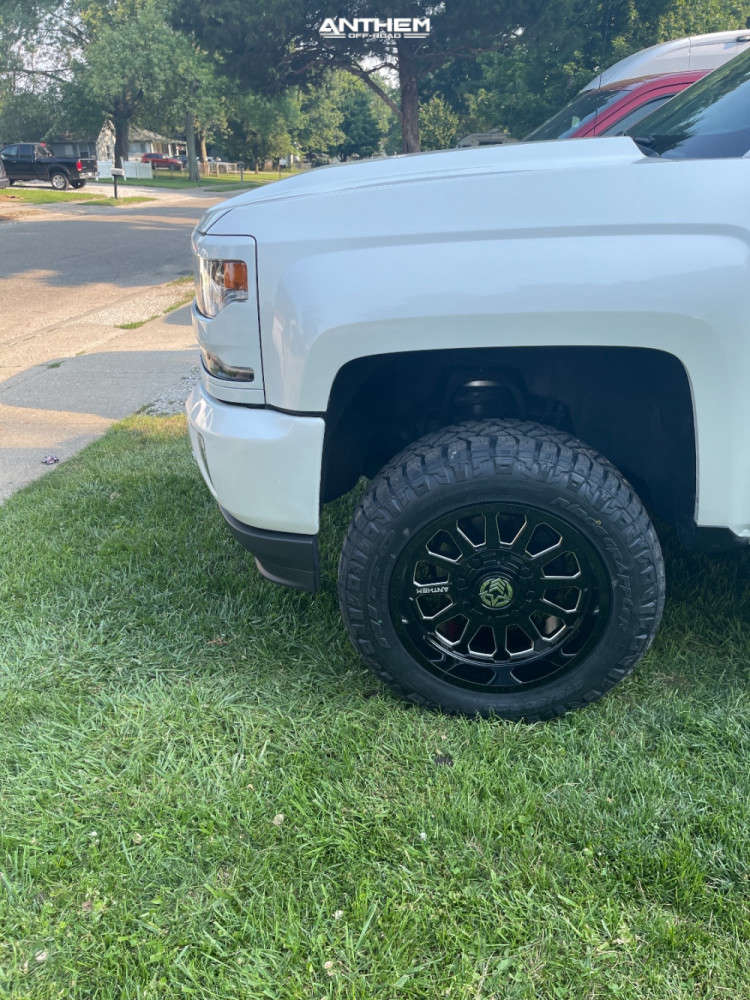 5 2017 Silverado 1500 Chevrolet Supreme Suspension Lift 3in Anthem Off Road Anthem Black