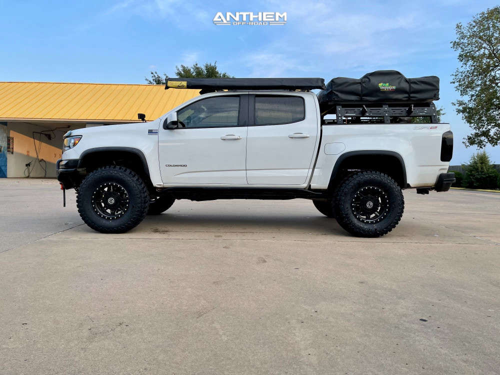 4 2018 Colorado Chevrolet Other Stock Anthem Off Road Rogue Black