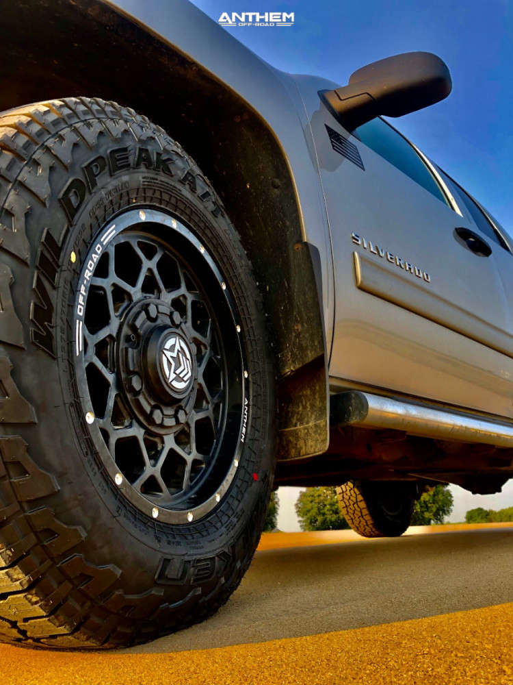 9 2013 Silverado Chevrolet 2 Inch Level Leveling Kit Anthem Off Road Avenger Black