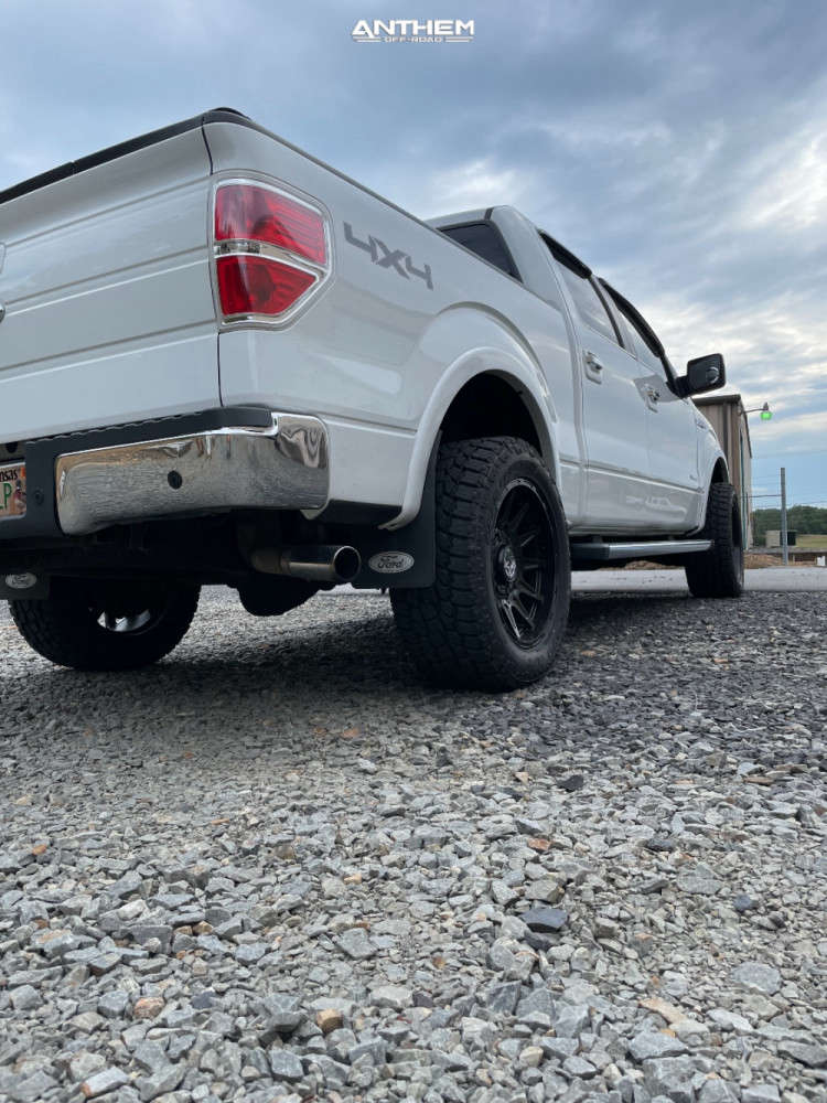 10 2013 F 150 Ford Fabtech Leveling Kit Anthem Off Road Liberty Black