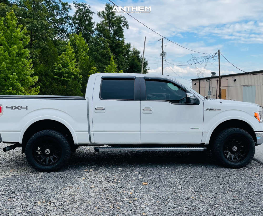 12 2013 F 150 Ford Fabtech Leveling Kit Anthem Off Road Liberty Black