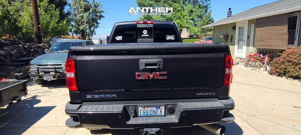 3 2015 Sierra 3500 Hd Gmc Maxx Leveling Kit Anthem Off Road Liberty Black