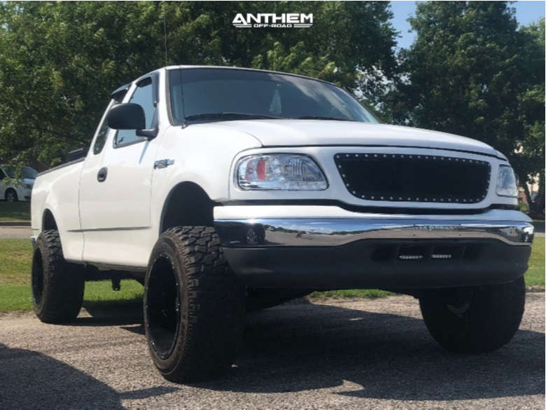 1 2003 F 150 Ford Rough Country Suspension Lift 5in Anthem Off Road Equalizer Machined Black