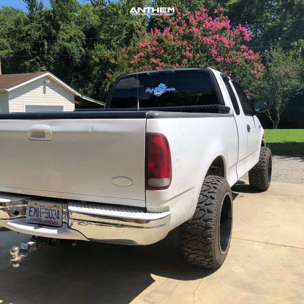 3 2003 F 150 Ford Rough Country Suspension Lift 5in Anthem Off Road Equalizer Machined Black