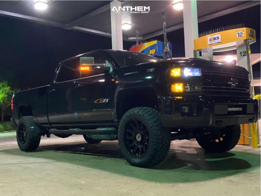 1 2019 Silverado 2500 Hd Chevrolet Kryptonite Leveling Kit Anthem Off Road Liberty Black