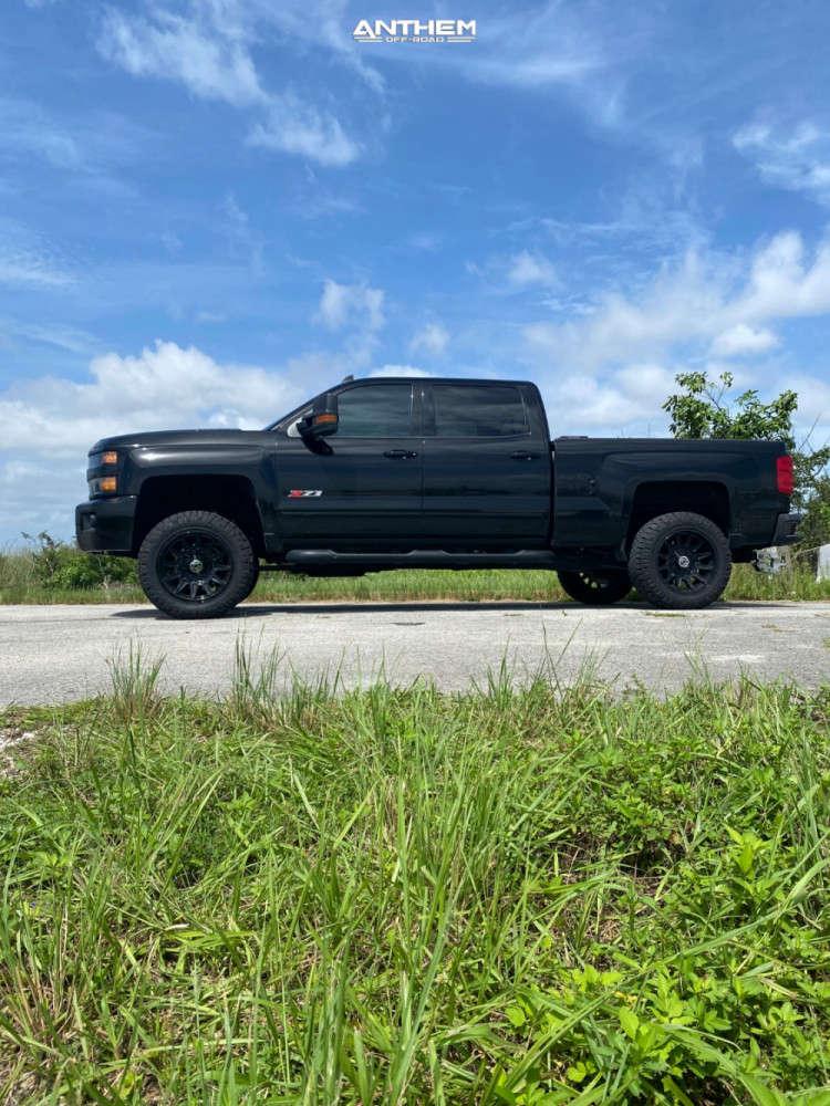 10 2019 Silverado 2500 Hd Chevrolet Kryptonite Leveling Kit Anthem Off Road Liberty Black