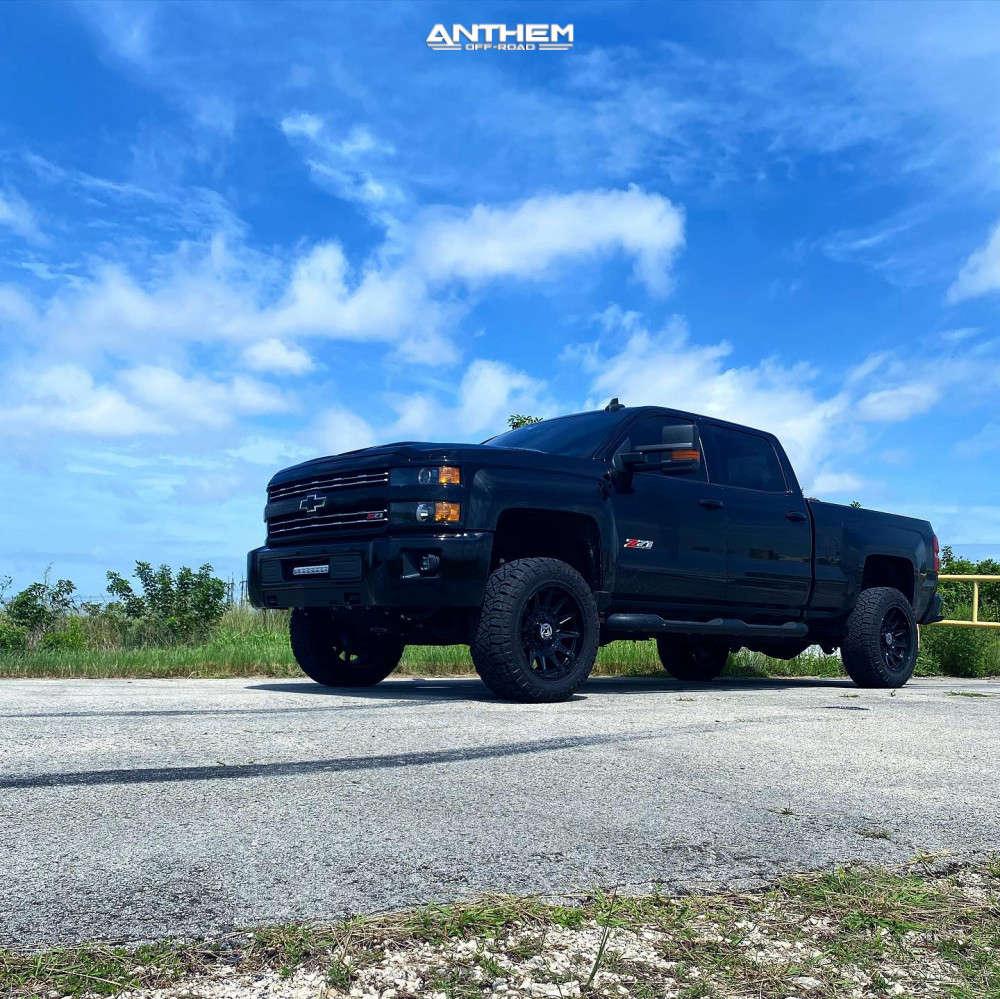 12 2019 Silverado 2500 Hd Chevrolet Kryptonite Leveling Kit Anthem Off Road Liberty Black