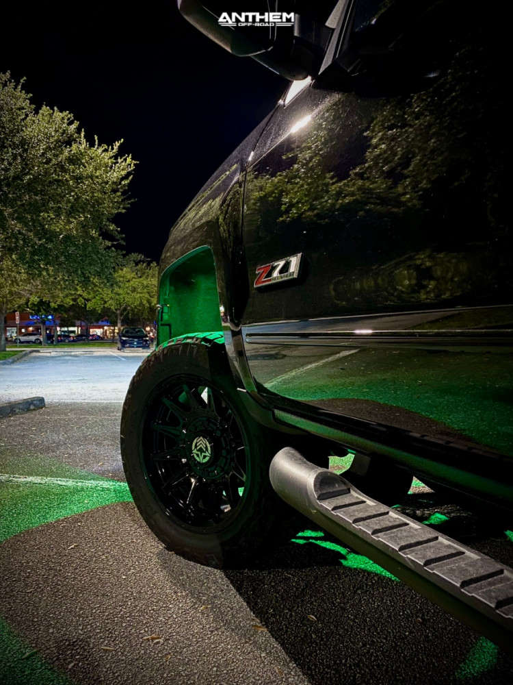 14 2019 Silverado 2500 Hd Chevrolet Kryptonite Leveling Kit Anthem Off Road Liberty Black