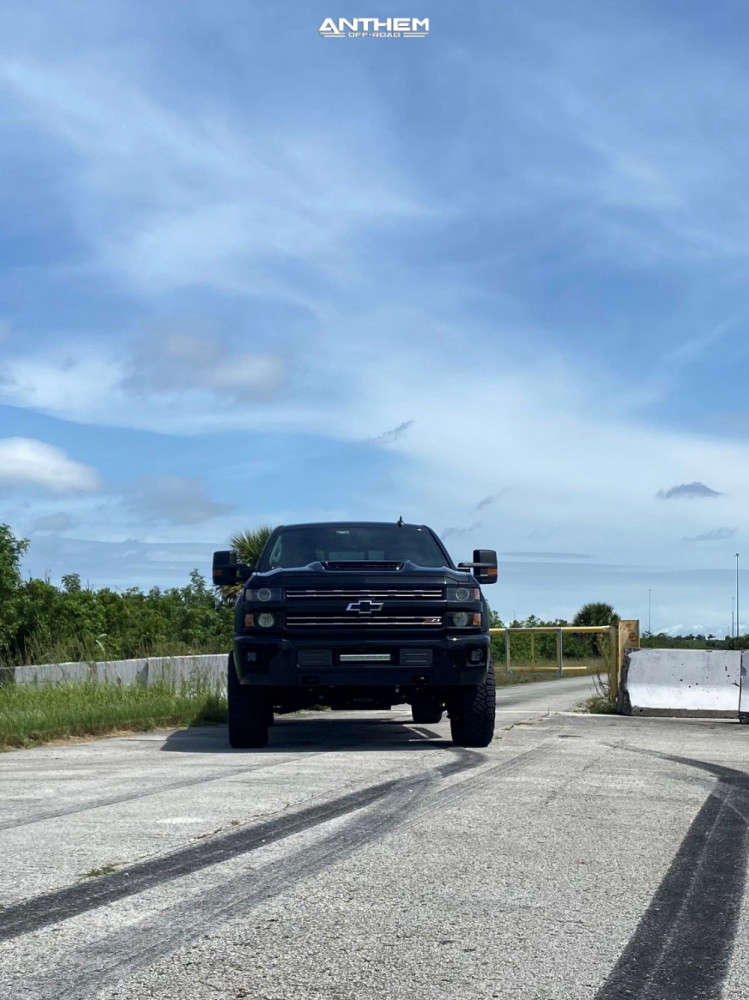 2 2019 Silverado 2500 Hd Chevrolet Kryptonite Leveling Kit Anthem Off Road Liberty Black