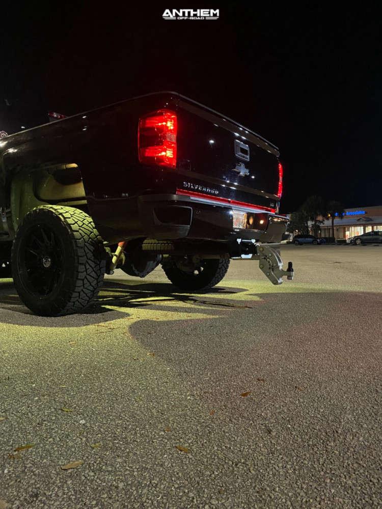 3 2019 Silverado 2500 Hd Chevrolet Kryptonite Leveling Kit Anthem Off Road Liberty Black