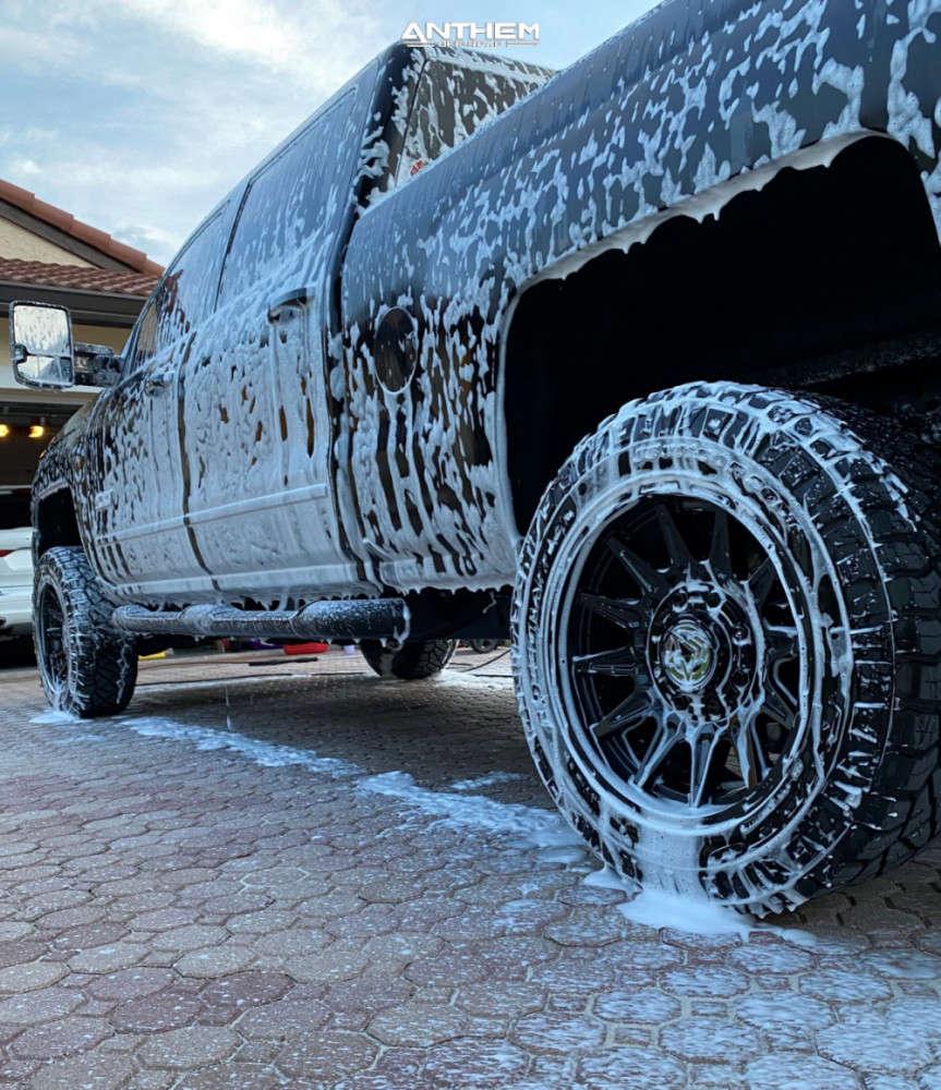4 2019 Silverado 2500 Hd Chevrolet Kryptonite Leveling Kit Anthem Off Road Liberty Black