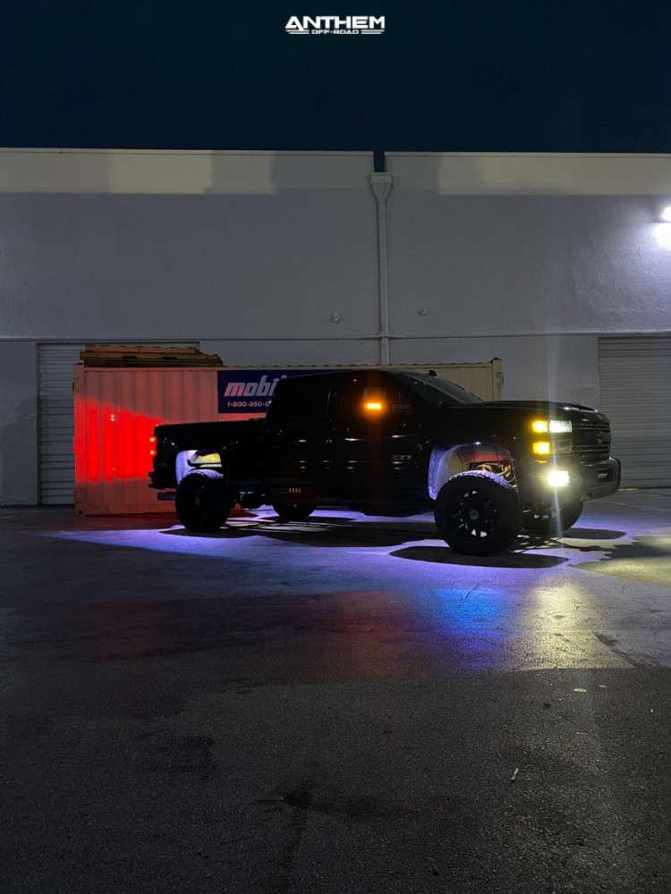 7 2019 Silverado 2500 Hd Chevrolet Kryptonite Leveling Kit Anthem Off Road Liberty Black