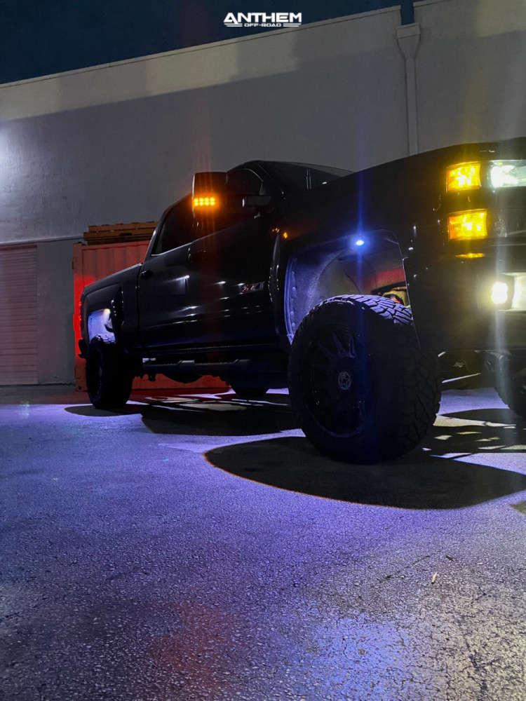 9 2019 Silverado 2500 Hd Chevrolet Kryptonite Leveling Kit Anthem Off Road Liberty Black