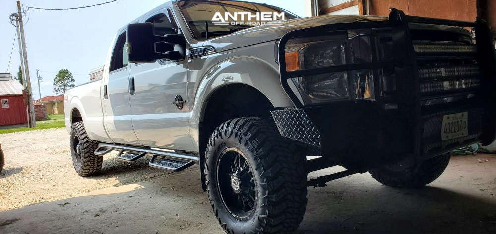 1 2012 F 350 Super Duty Ford 2 Inch Level Leveling Kit Anthem Off Road Equalizer Black