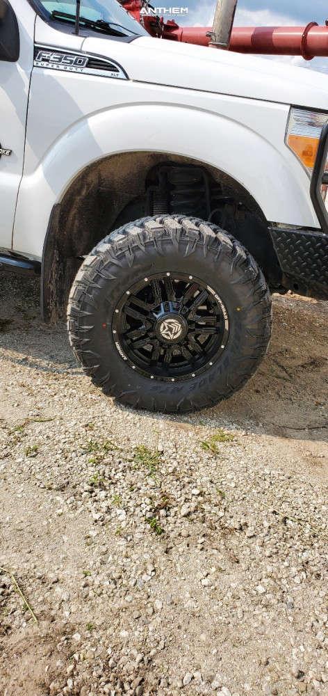 13 2012 F 350 Super Duty Ford 2 Inch Level Leveling Kit Anthem Off Road Equalizer Black