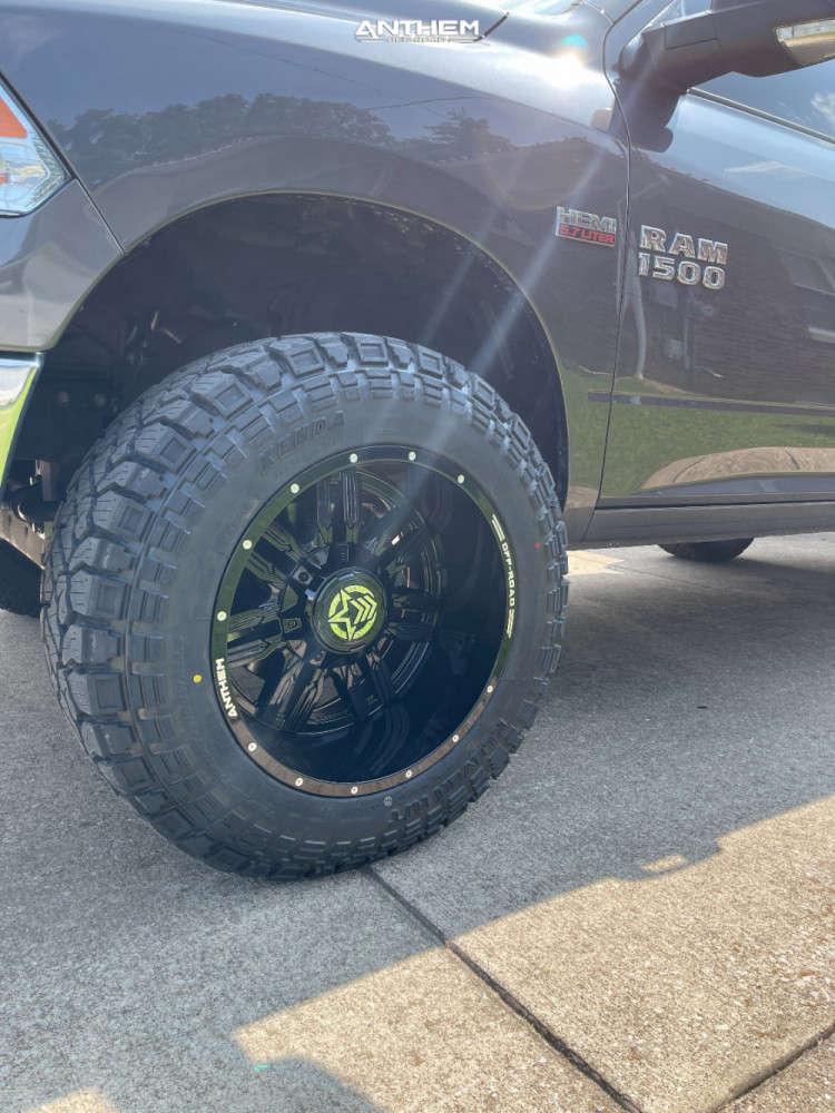 8 2016 1500 Ram Readylift Suspension Lift 4in Anthem Off Road Equalizer Black