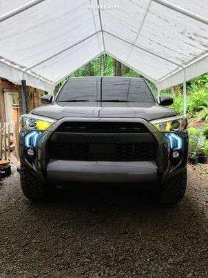 12 2021 4runner Toyota Stock Stock Anthem Off Road Avenger Black