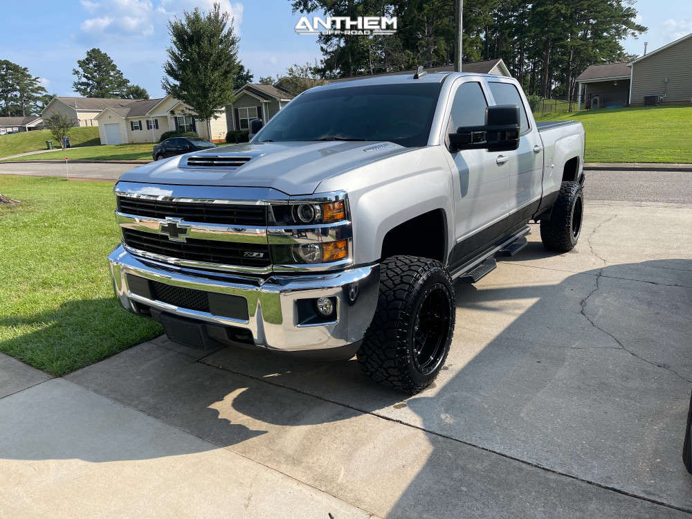 1 2017 Silverado 2500 Hd Chevrolet Cognito Leveling Kit Anthem Off Road Rogue Machined Black