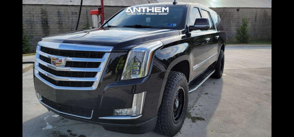 2 2018 Escalade Esv Cadillac Kryptonite Leveling Kit Anthem Off Road Rogue Black
