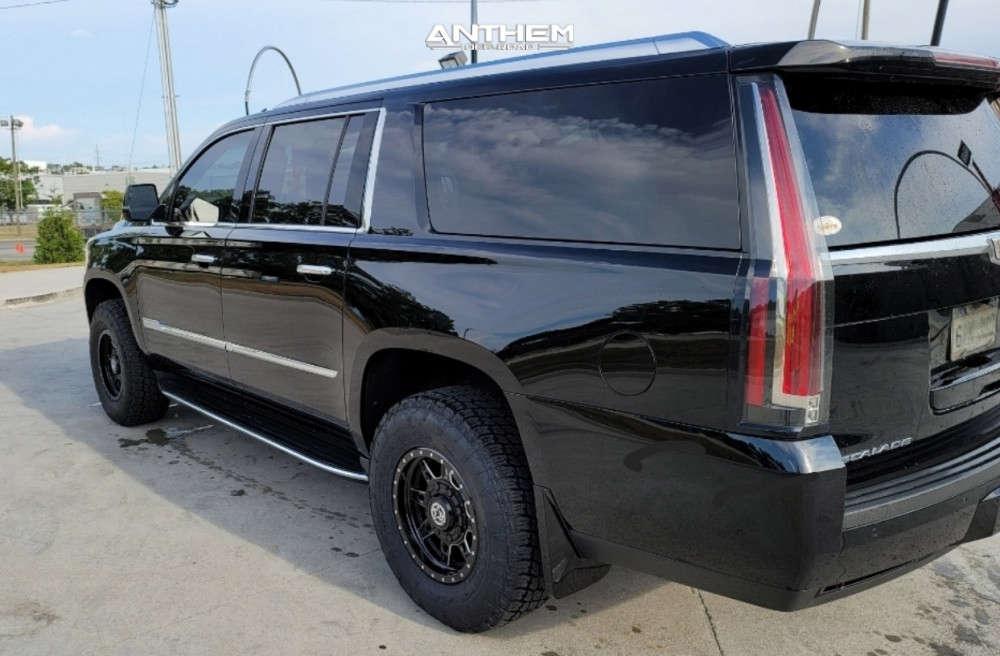 3 2018 Escalade Esv Cadillac Kryptonite Leveling Kit Anthem Off Road Rogue Black