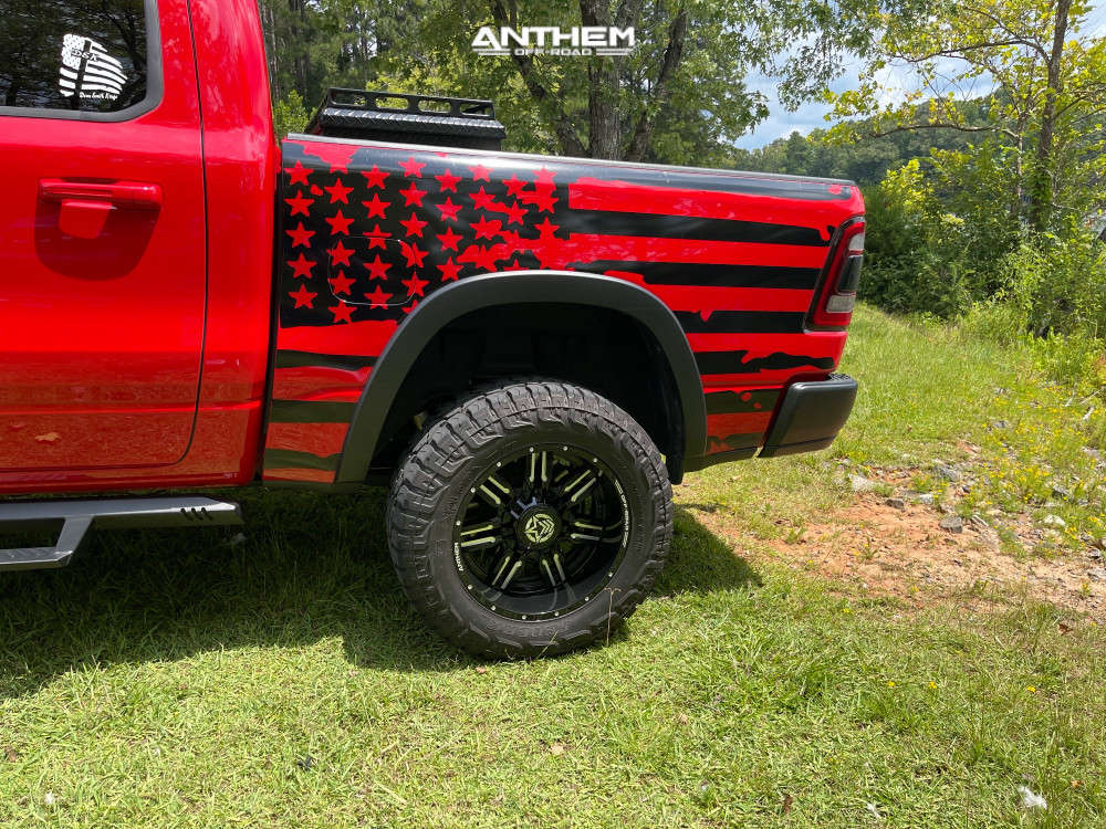 10 2020 1500 Ram Rough Country Suspension Lift 6in Anthem Off Road Equalizer Black