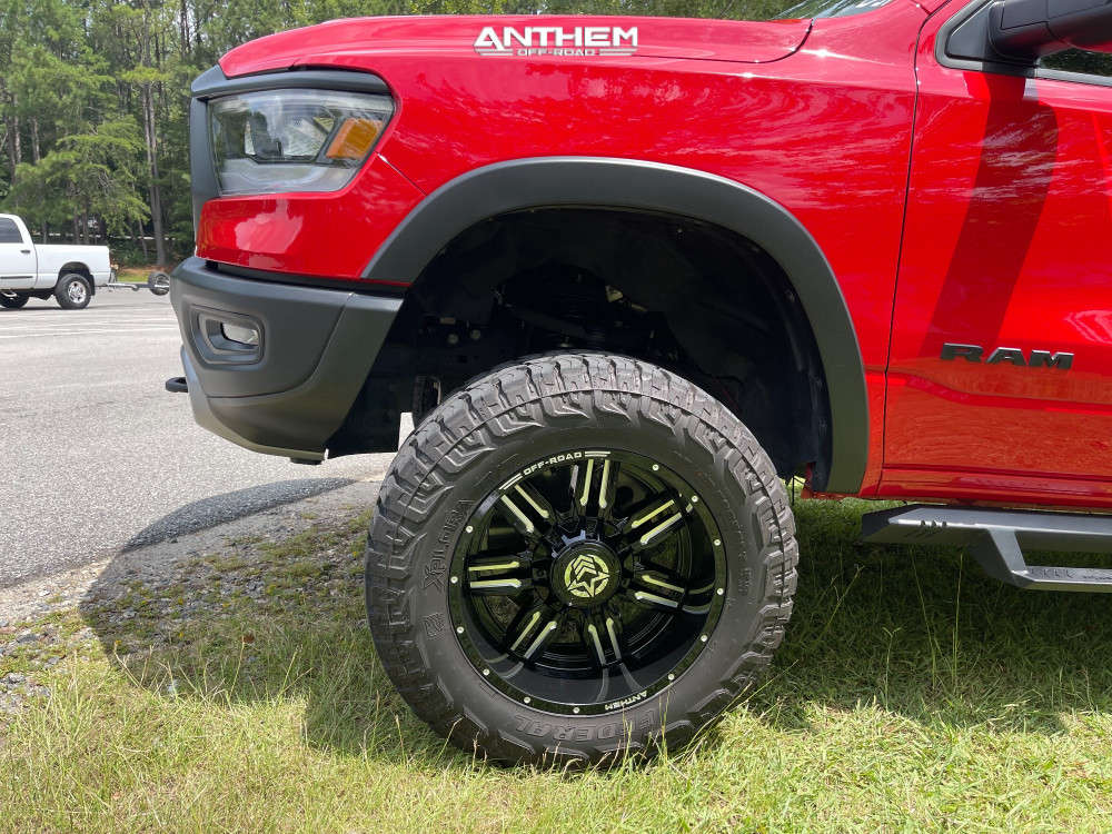 8 2020 1500 Ram Rough Country Suspension Lift 6in Anthem Off Road Equalizer Black