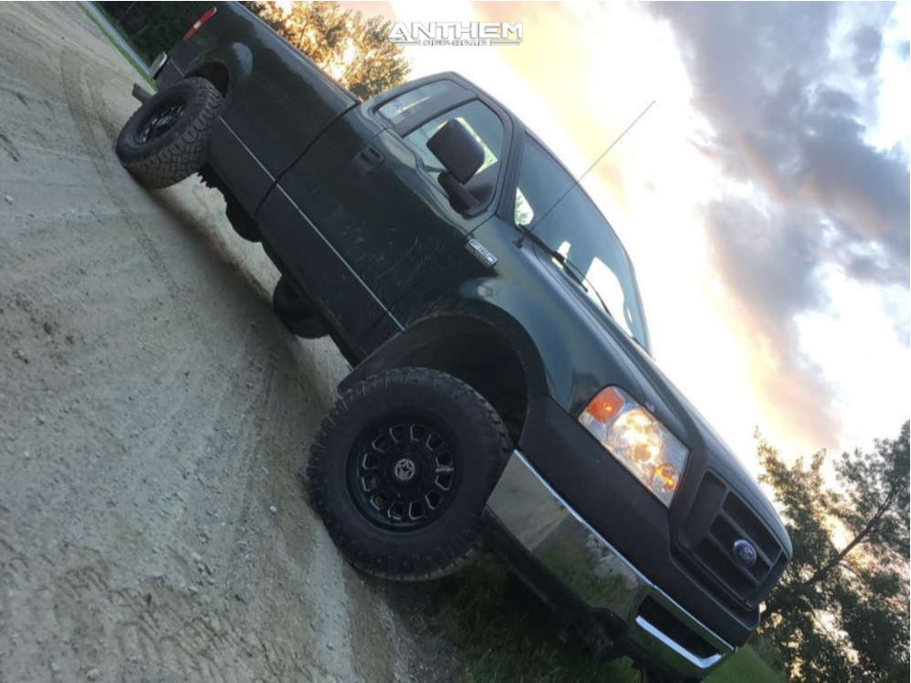 1 2007 F 150 Ford 3 Inch Level Stock Anthem Off Road Intimidator Machined Accents