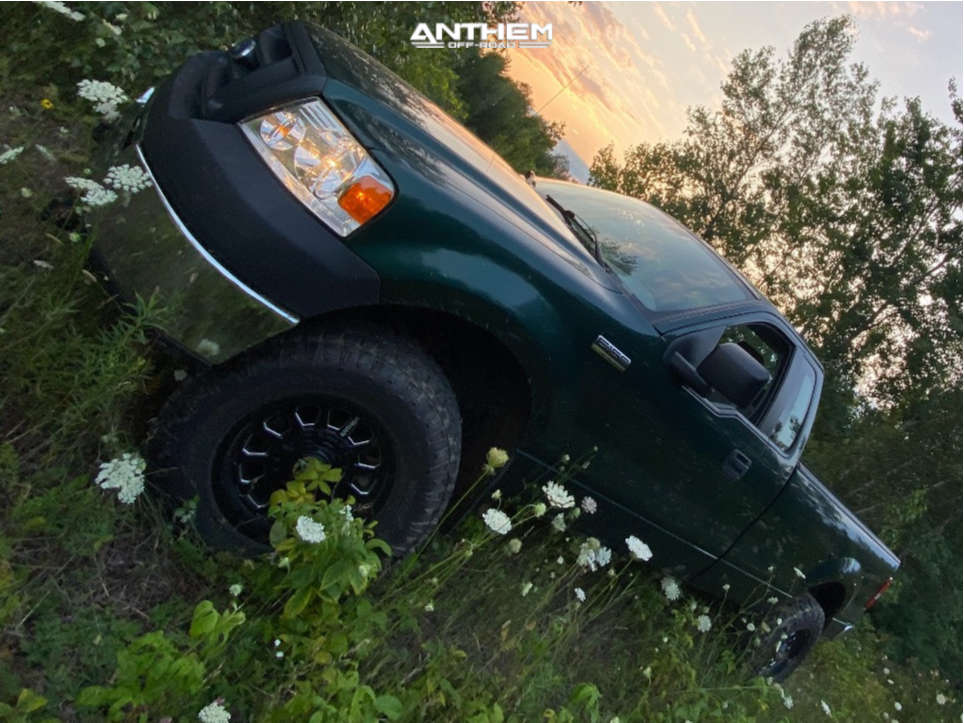 2 2007 F 150 Ford 3 Inch Level Stock Anthem Off Road Intimidator Machined Accents