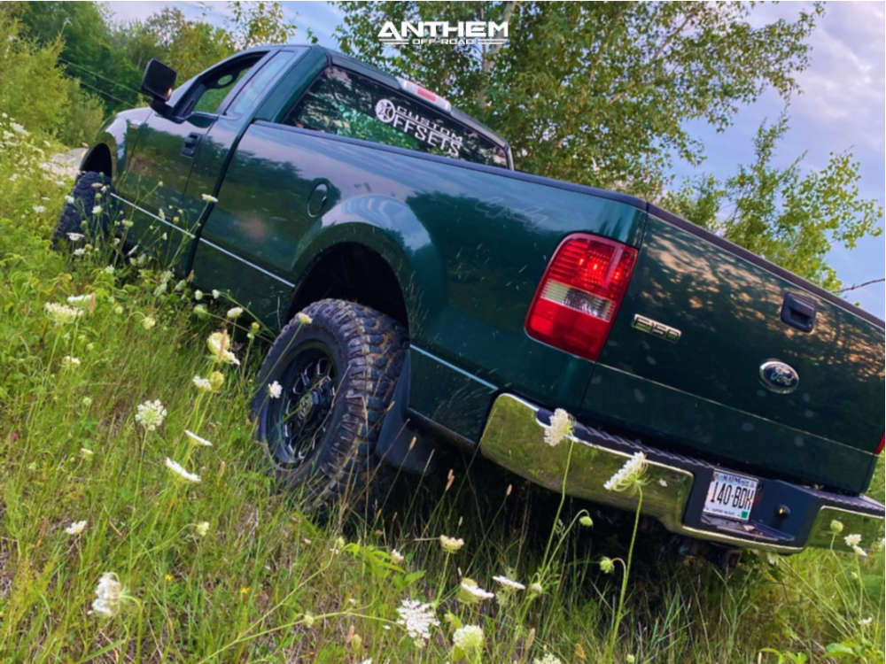 3 2007 F 150 Ford 3 Inch Level Stock Anthem Off Road Intimidator Machined Accents