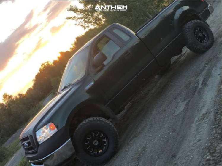 4 2007 F 150 Ford 3 Inch Level Stock Anthem Off Road Intimidator Machined Accents