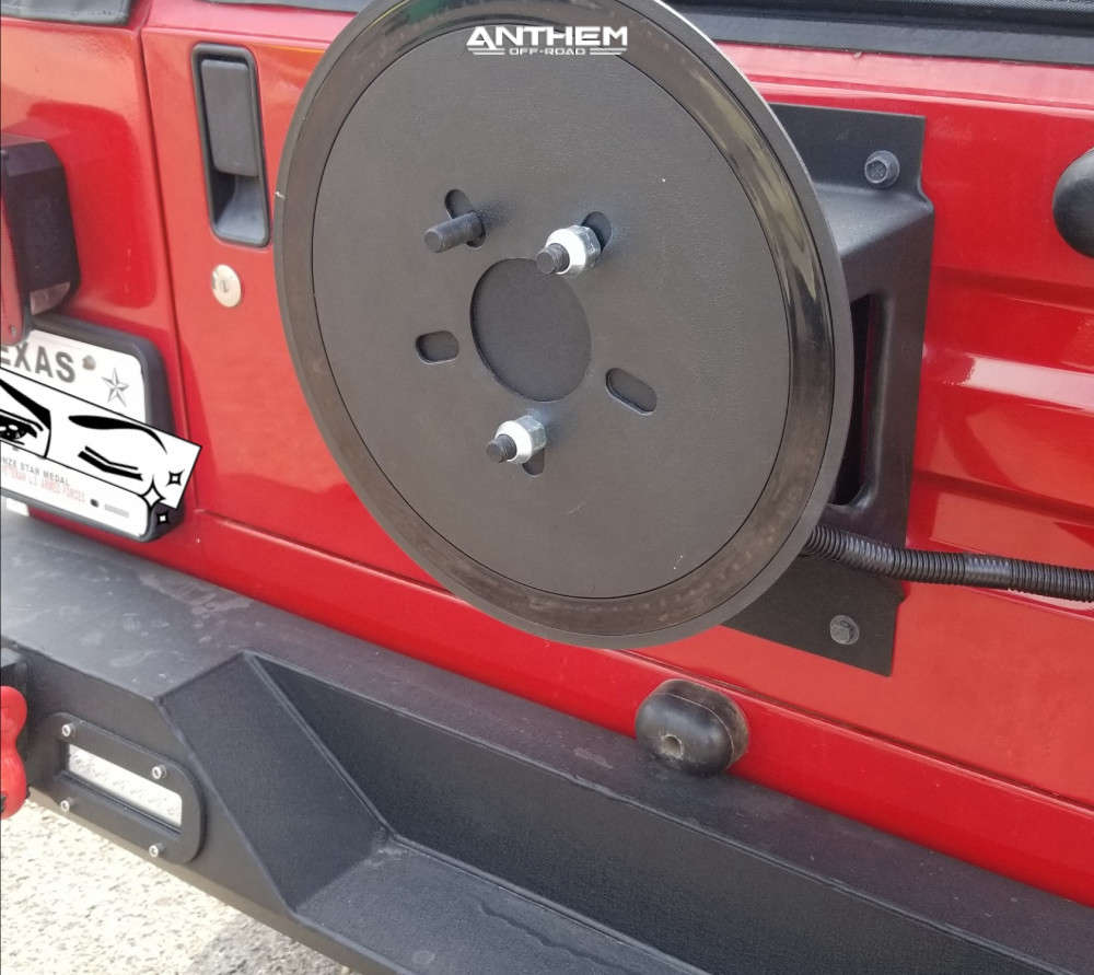 16 2004 Tj Jeep Sport Rough Country Lifted Anthem Off Road Equalizer Machined Black
