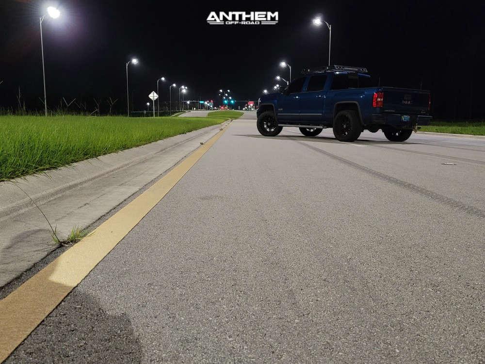 4 2015 Sierra 1500 Gmc 2 Inch Level Leveling Kit Anthem Off Road Instigator Black