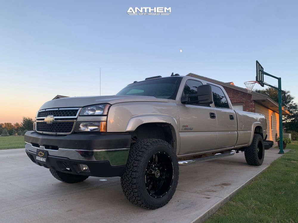 1 2006 Silverado 2500 Hd Classic Chevrolet Stock Air Suspension Anthem Off Road Equalizer Black