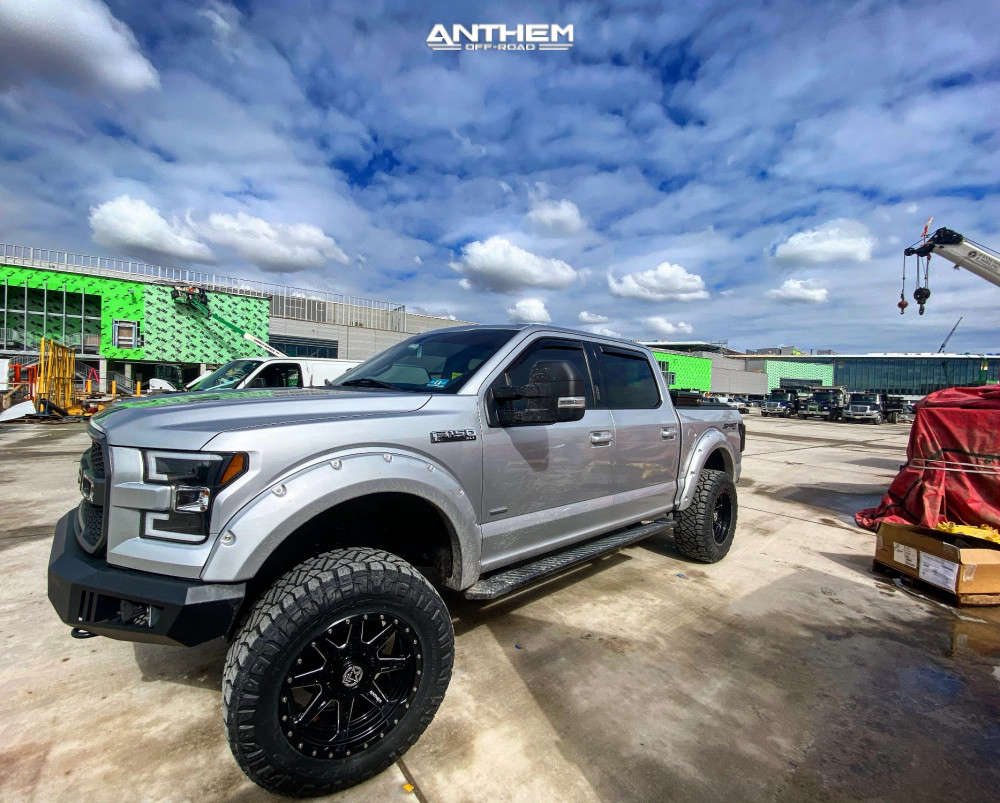 14 2015 F 150 Ford Bds Suspension Lift 6in Anthem Off Road Rogue Black