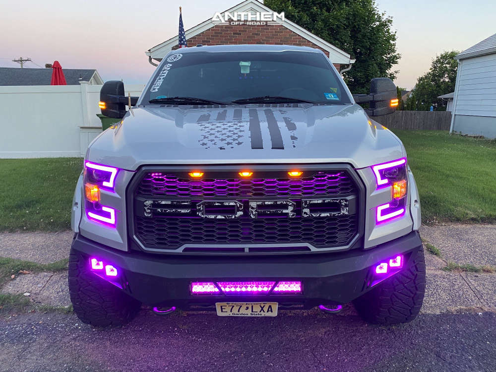 2 2015 F 150 Ford Bds Suspension Lift 6in Anthem Off Road Rogue Black