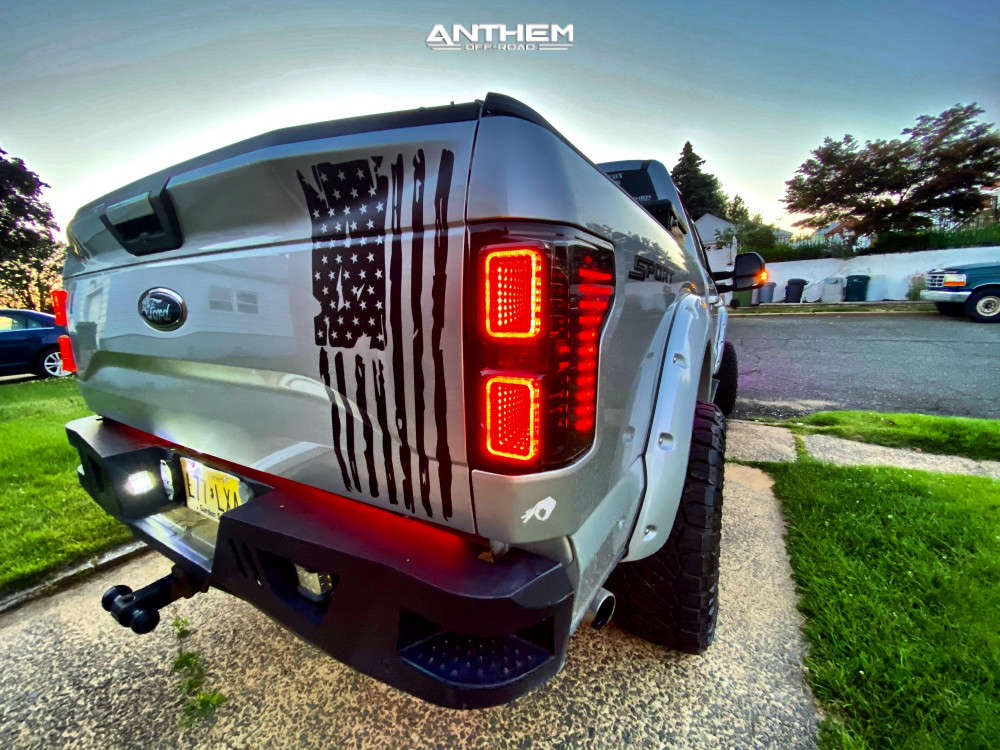 4 2015 F 150 Ford Bds Suspension Lift 6in Anthem Off Road Rogue Black