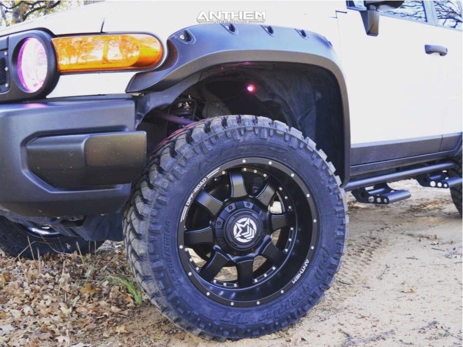 2 2014 Fj Cruiser Toyota Readylift Suspension Lift 3in Anthem A731 Matte Black
