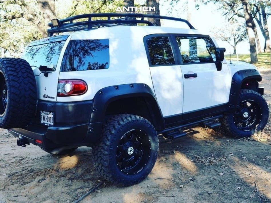 3 2014 Fj Cruiser Toyota Readylift Suspension Lift 3in Anthem A731 Matte Black