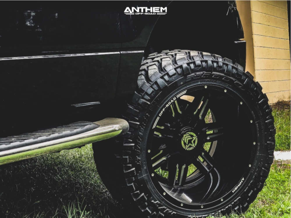9 2014 F 150 Ford Rough Country Suspension Lift 6in Anthem A751 Black