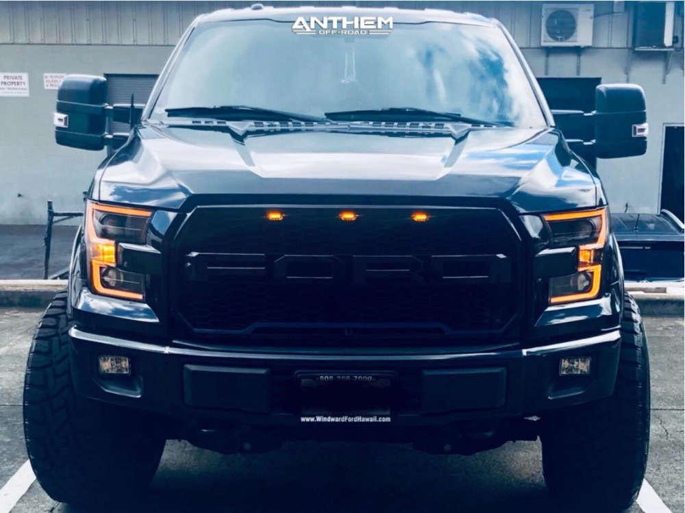 2 2015 F 150 Ford Bds Suspension Lift 6in Anthem Equalizer Black