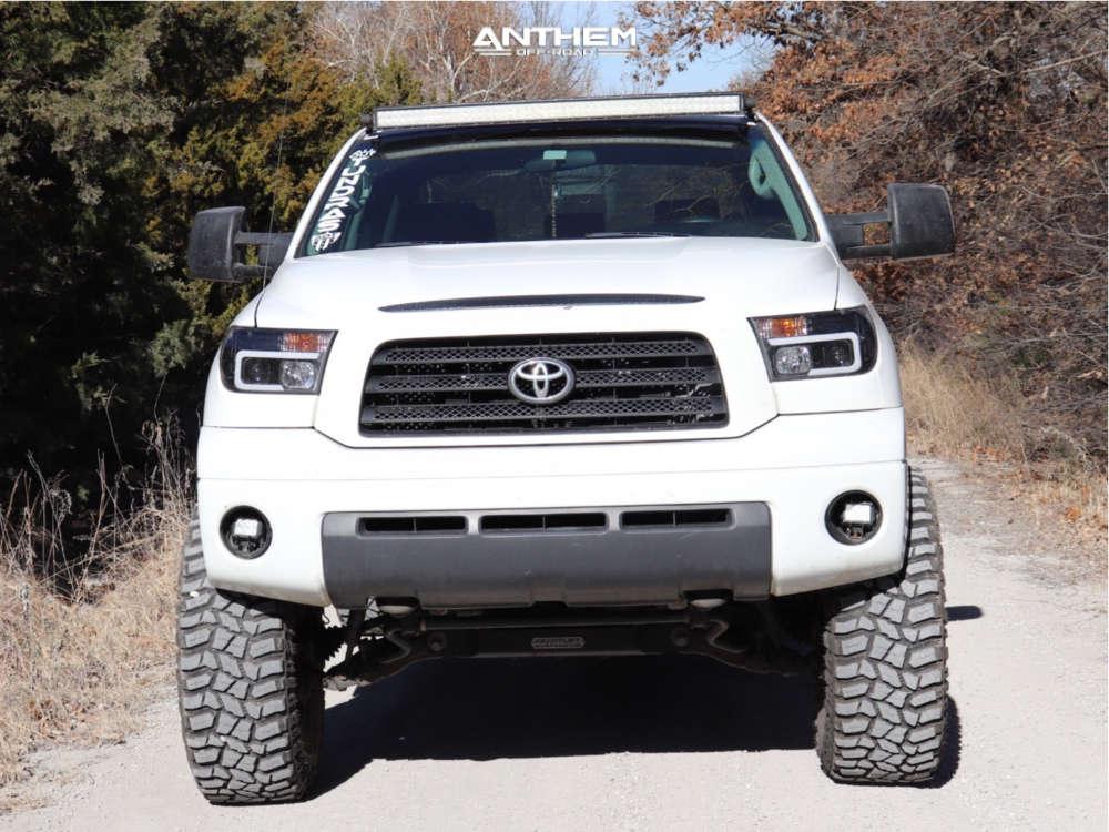 2 2009 Tundra Toyota Readylift Suspension Lift 8in Anthem Aviator Black